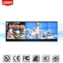 رخيصة الثمن اجتماع ضيق 3.7mm بوصة مول a4k 55 بيزيلس 3x3 التلفزيون فيديو الجدار lcd مع انخفاض السعر × 2 2 pip