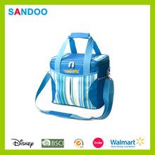 2015 venta caliente almuerzo bolsa de picnic, de moda de oxford lonchera hecho en china