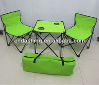 Cheap foldable bbq table and chairs set
