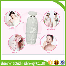 2015 China Manufacturing Champagne gold/white/pink Color Rapid Digital Skin Moisture Analyzer Skin Face Hands Precision Test