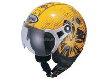 motorcycle fittings half face helmet