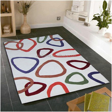 Fashion new design polyester carpet and rug with your logo
