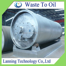 NEW GENERATION waste tire /rubber /plactis old WASTE TIRE PYROLYSIS EQUIPMENT with CE,ISO,BV,TUV low invest High profitable