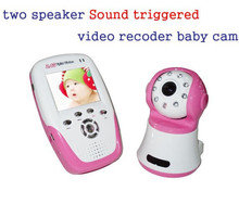 2.4G Wireless 2.4 inch Digital wireless baby monitor Night Vision two way speaker baby monitor