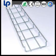 China supplier Steel channel suppliers in Dubai Powder Coating CM50-100-3000 wire basket tray