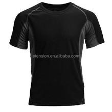 simple design Men's 100% polyester dri fit shirts wholesale