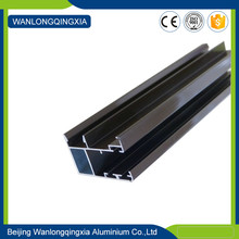 Hot sale brown powder coated Aluminum frame for doors and windows