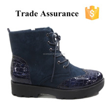 women winter boots with waterproof TPR sole for rain and snow
