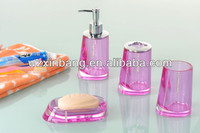 Fashion Acrylic Bathroom Accessory Set