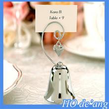 Best selling wedding seats folder wedding supplies bells shaped seat clip seat card wedding invitations clip MHo-135