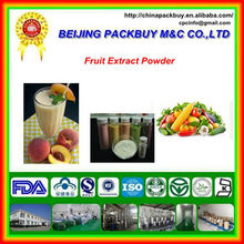 100% Pure Natural and High Quality Fruit Juice Concentrate Powder: Fruit Extract Powder