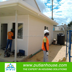Turn-Key project of wooden house