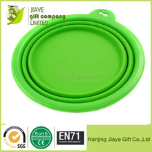 Wholesale Silicone Collapsible Pet Bowl Water Bowl
