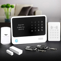 Golden Security newest wireless home alarm system wifi network for communication,no paid for home protection