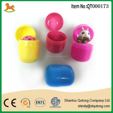 40mm colorful PP empty capsule vending machine /plastic empty capsule
