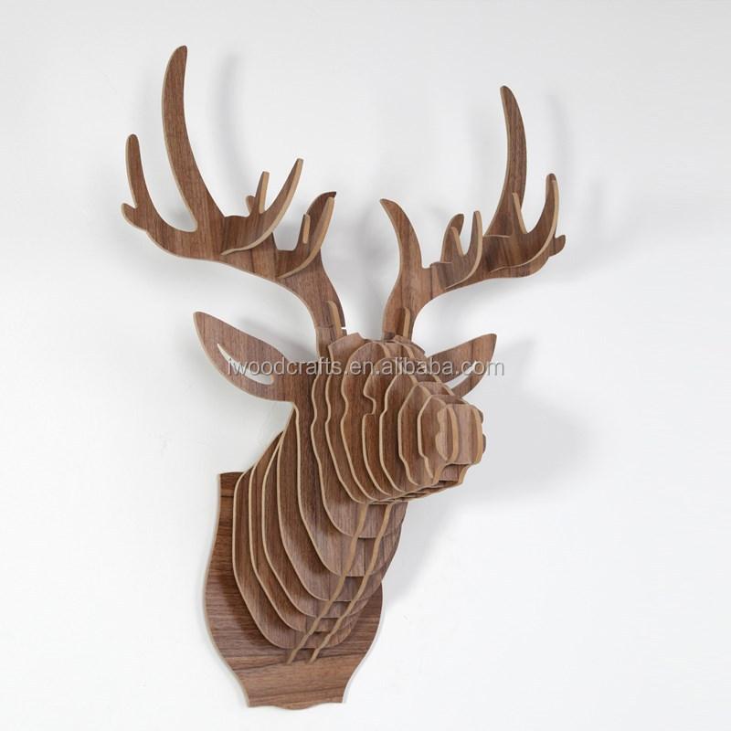 diy wooden deer head home decor crafts gift festive gift 9 diy valentine ideas home decor crafts amp gifts