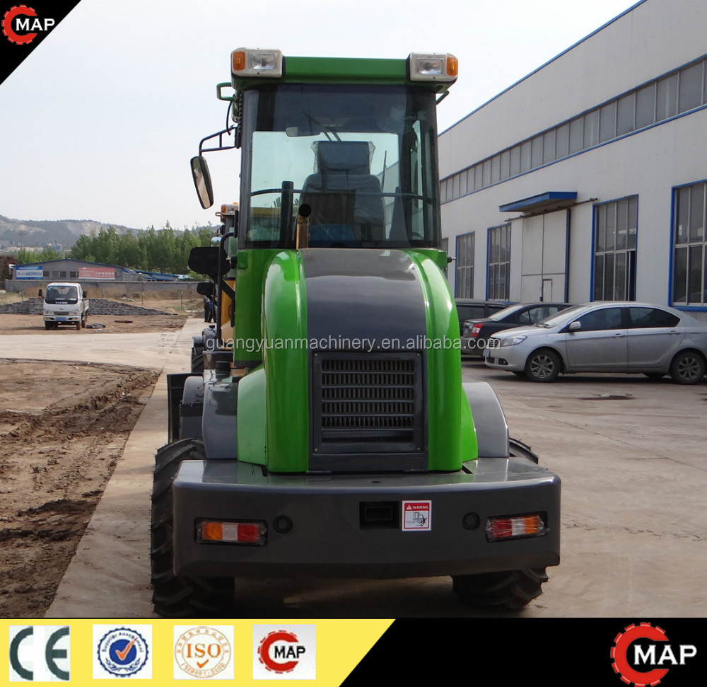 Front Load Mixer ~ Zl f small loaders concrete mixer front end loader buy