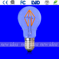 china supplier A19/A60 4W led light bulbs, antique decoration bulbs hot sale