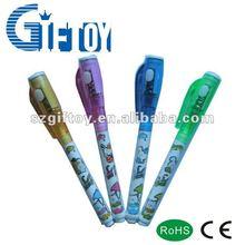 Invisible ink pen UV currency detector pen secret message UV pen