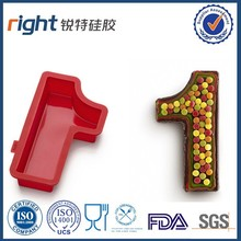 silicone letters and number mould