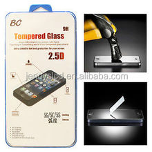 2014 newest products for Iphone 5S tempered glass screen protector