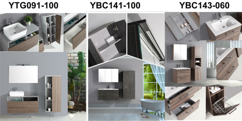 유럽 디자인 높은 광택 회색 PVC 저지 정지 욕실 세면대 캐비닛 ...