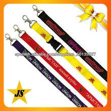 cordón personalizado/ Acollador del poliéster/ llanura cordón