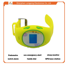 The newest two way calling gps kids tracker watch with GPS+LBS real time location