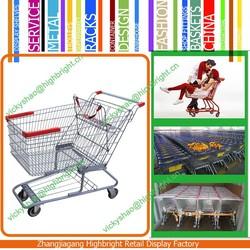 retail wal-mart style supermarket shopping cart