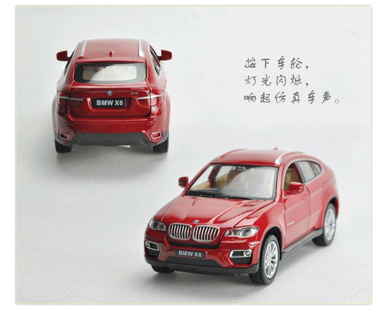 132 Alloy Car Model For BMW X6-28