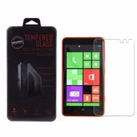Wholesale 9H hardness 0.33mm tempered glass screen protector for nokia lumia 625