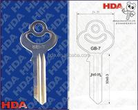 Factory customized key blanks wholesale