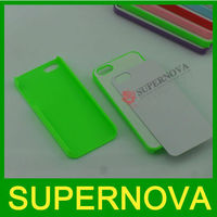 Heat transfer printing case for iphone 5 5G sublimation case