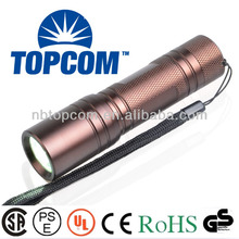200 lumen CREE XP-E led aluminum recharged flashlight TP-1816