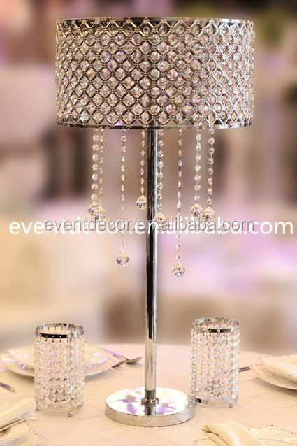 Wedding flower stand crystal table centerpieces