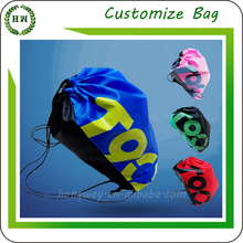 Wholesale Cheap Customize Printing with your logo Drawstring Bag / Draw string Nylon Polyester Bag / Drawstring Backpack