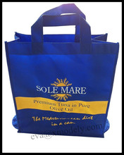 Extra large reuseable eco-friendly recycled material tote bag