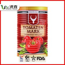 ISO9001,CQC,HACCP Tin Can Tomato Paste