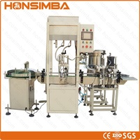 100% CE ISO 100-1000ml Automatic Piston body cream shampoo facial cream wahshing liquid filling capping machine