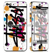 New arrival ! Factory supply ! MOQ only 10pcs / design ! Buy full body skin sticker for iphone 5 cover wholesale