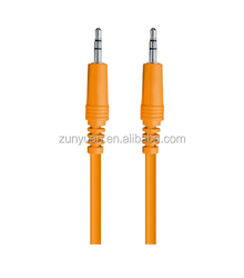 high grade 3.5st-3.5st nickle plug rca cable