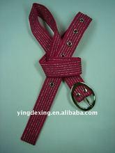 Custom elastic Nylon webbing belt with buckle