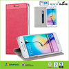2015 Unique flip slim case for Galaxy s6 edge with good quality