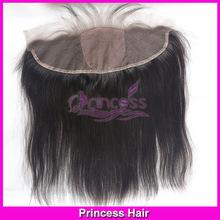 Virgin Peruvian Full Silk Base Frontal Closure Good Quality Straight Full Silk Based Lace Front Closure