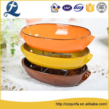 High hardness easy to wash durable stoneware cookware