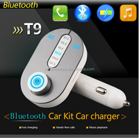 2015 samrt car kit bluetooth mp3 player with fm transmitter with micro