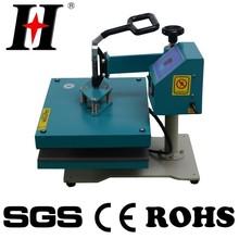 Digital control flat lowest price t-shirt heat press machine