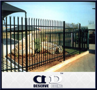 Low price Light weight Competive Price Garden Fence Palisade Fence Australia Fence Design