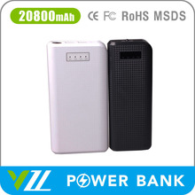 2015 New Design and High Quality 20800 mah Battery Power Bank