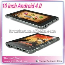 Android 4.0 10.1inch Android Ram 1GB tablet pc with camera mini laptop